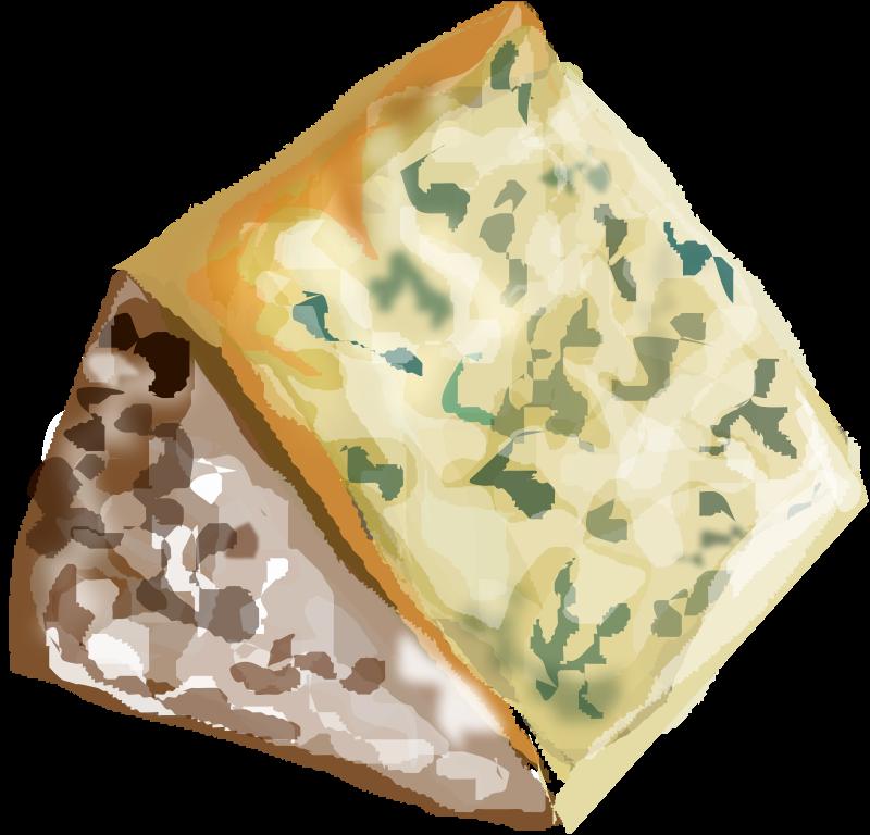 Free Clipart: Stilton Cheese.