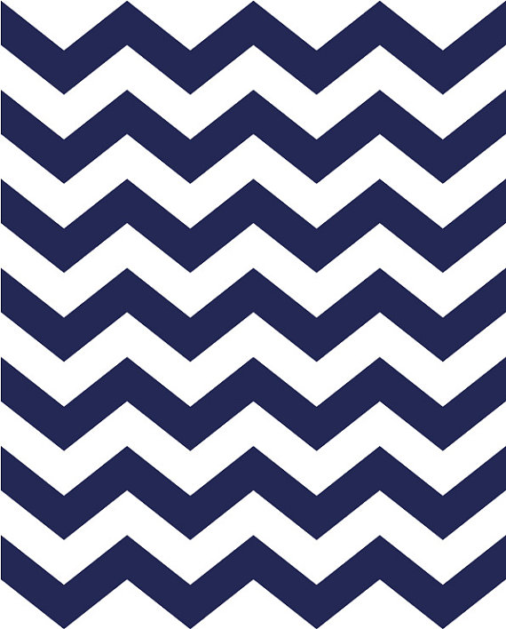 Navy And White Chevron Clipart.