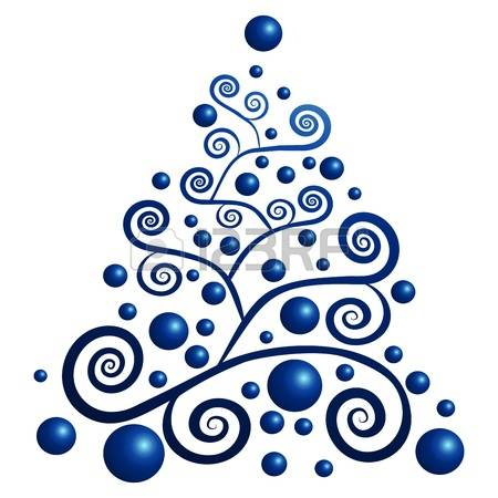 42,215 Blue Christmas Tree Cliparts, Stock Vector And Royalty Free.