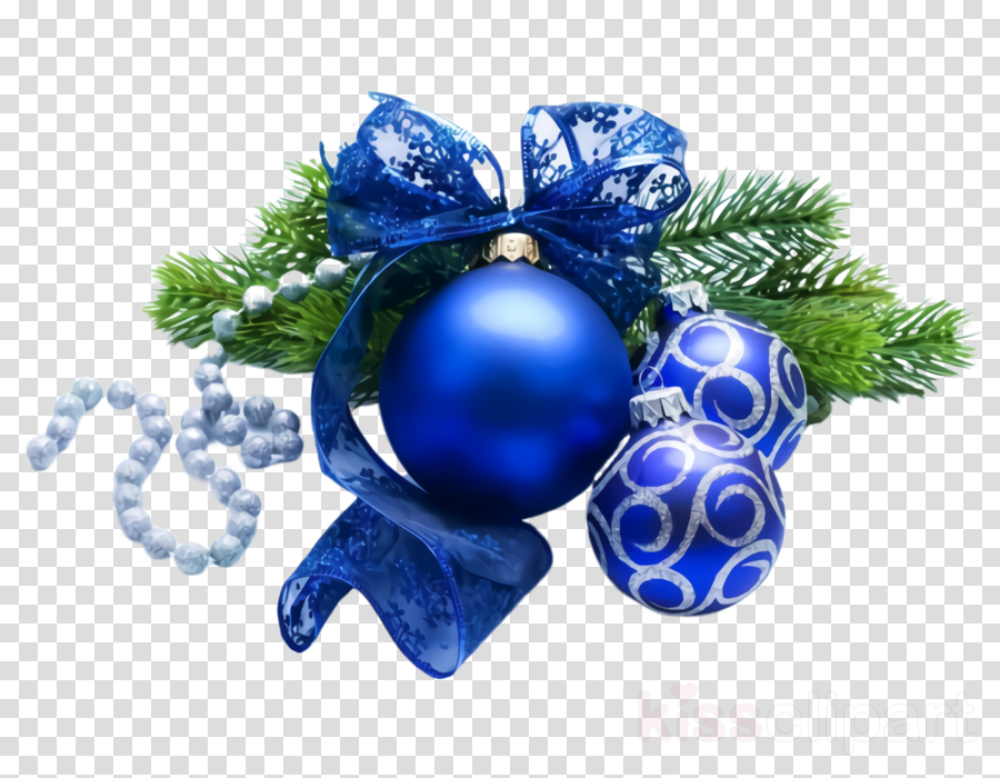 Christmas ornament clipart.