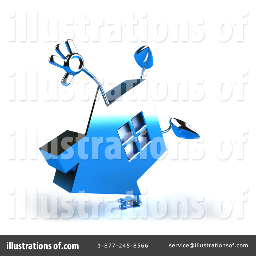 Blue Chrome Clipart.