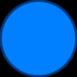 Blue Circle 2 Clip Art at Clker.com.