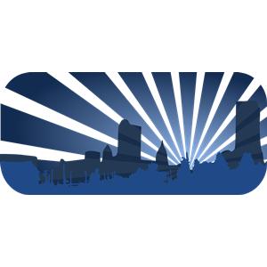 blue city scene clipart, cliparts of blue city scene free download.