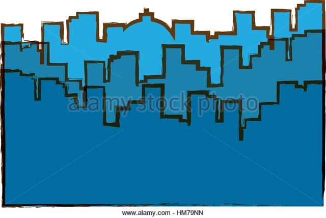 New York City Skyline Stock Vector Images.