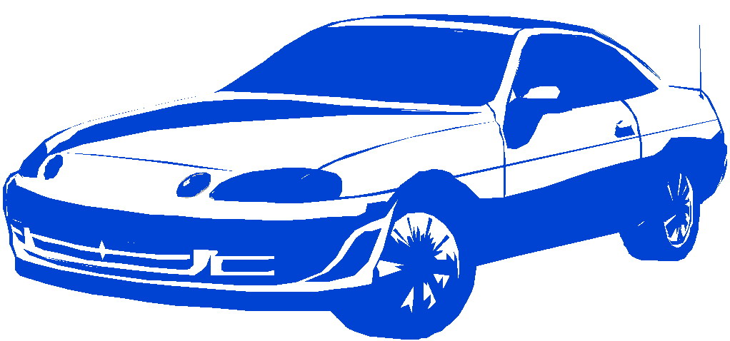 Cars Blue Car Clipart.