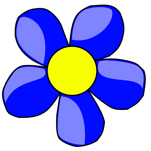 Free Blue Flower Clipart, Download Free Clip Art, Free Clip.