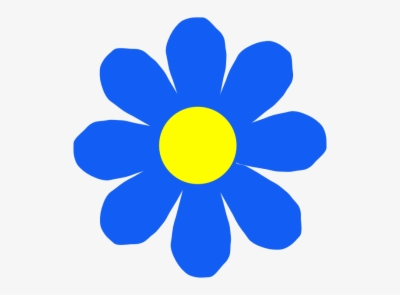 blue flower , Free clipart download.