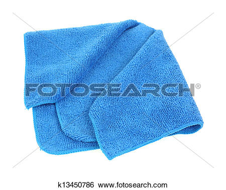 Stock Photo of Microfiber Dish Cloth k13439224.