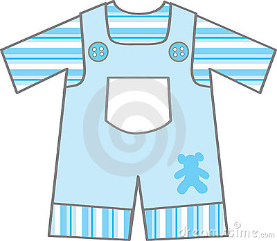 Baby boy cloth clipart.