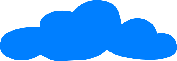 Blue clouds clipart png.