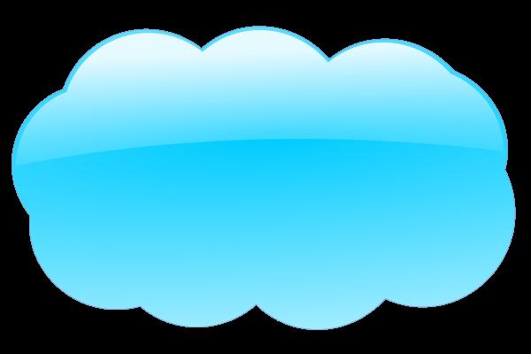 Blue cloud clipart png.