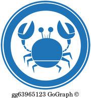 Blue Crab Clip Art.