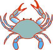 Blue crab Clip Art Illustrations. 1,199 blue crab clipart EPS.