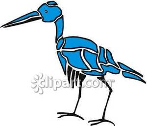 Blue_Crane_Shape_Royalty_Free_Clipart_Picture_090223.