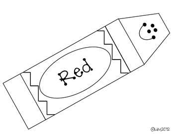 Red Crayon Clipart Black And White.