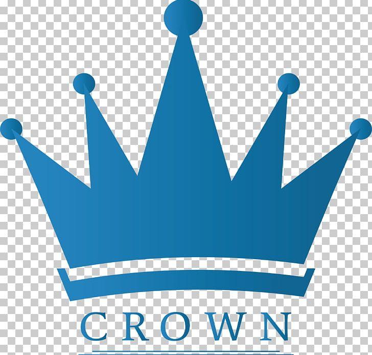 Blue Crown Clipart