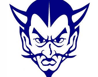 Blue Devil Clipart.