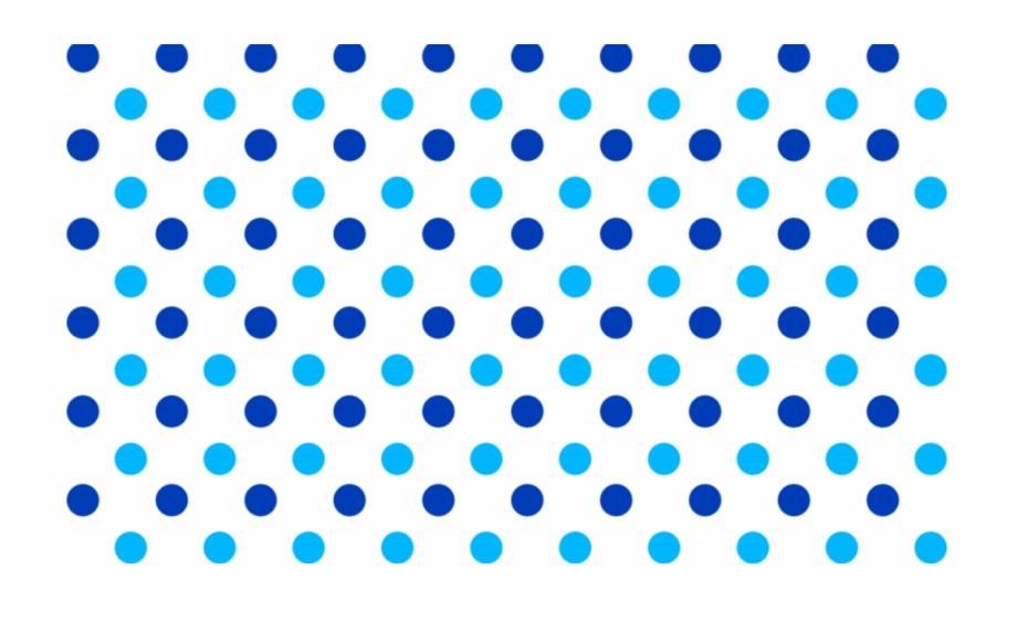 Blue Polka Dots Png , Png Download.