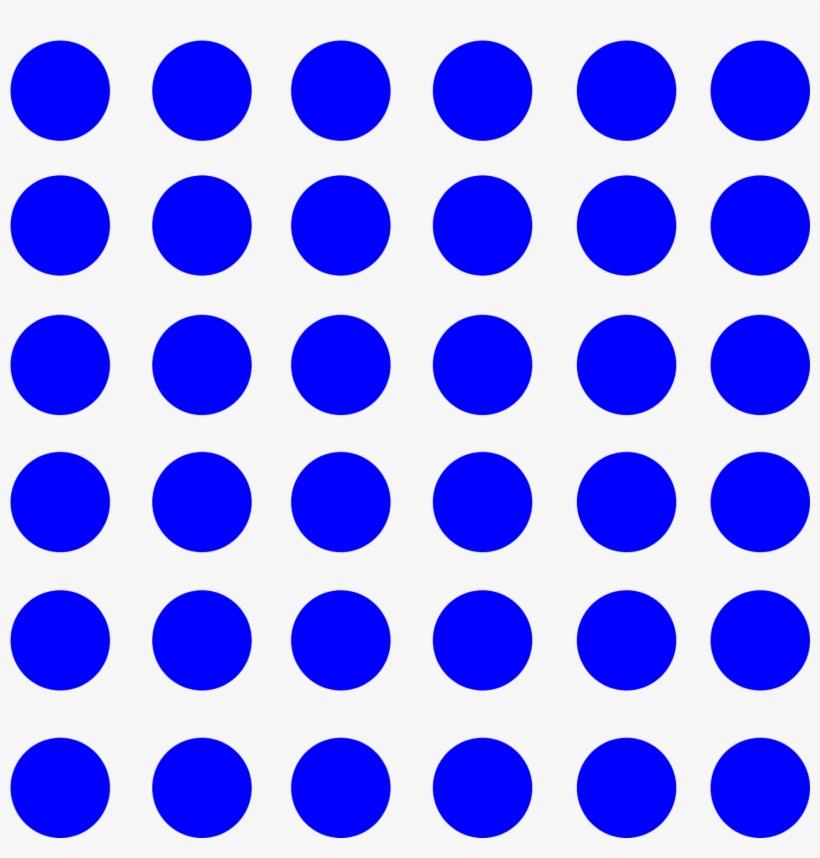 Blue Dot Pattern Png Transparent PNG.