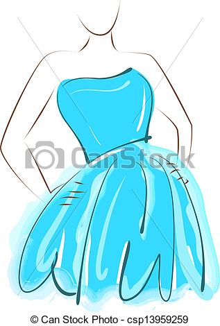 Blue dress Clip Art Vector Graphics. 7,698 Blue dress EPS clipart.