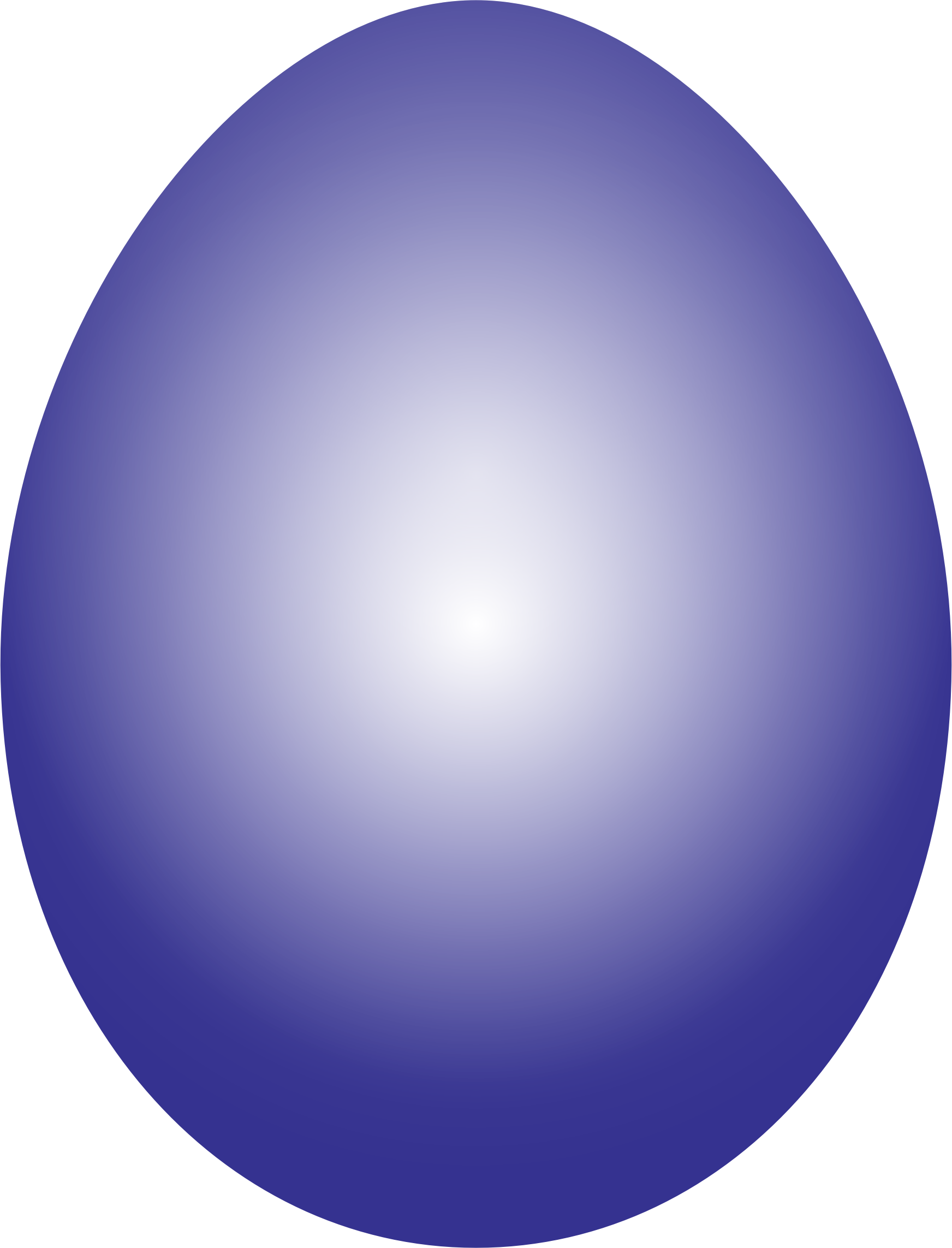Purple easter egg clipart.
