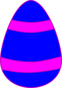 Blue And Pink Egg Clip Art at Clker.com.