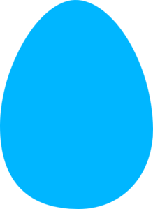Blue Egg Clip Art at Clker.com.