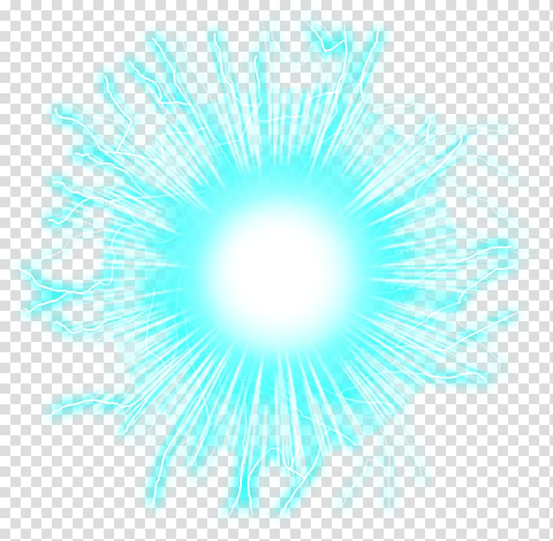 Round blue ball , Energy Ball Osmotic power, electricity.