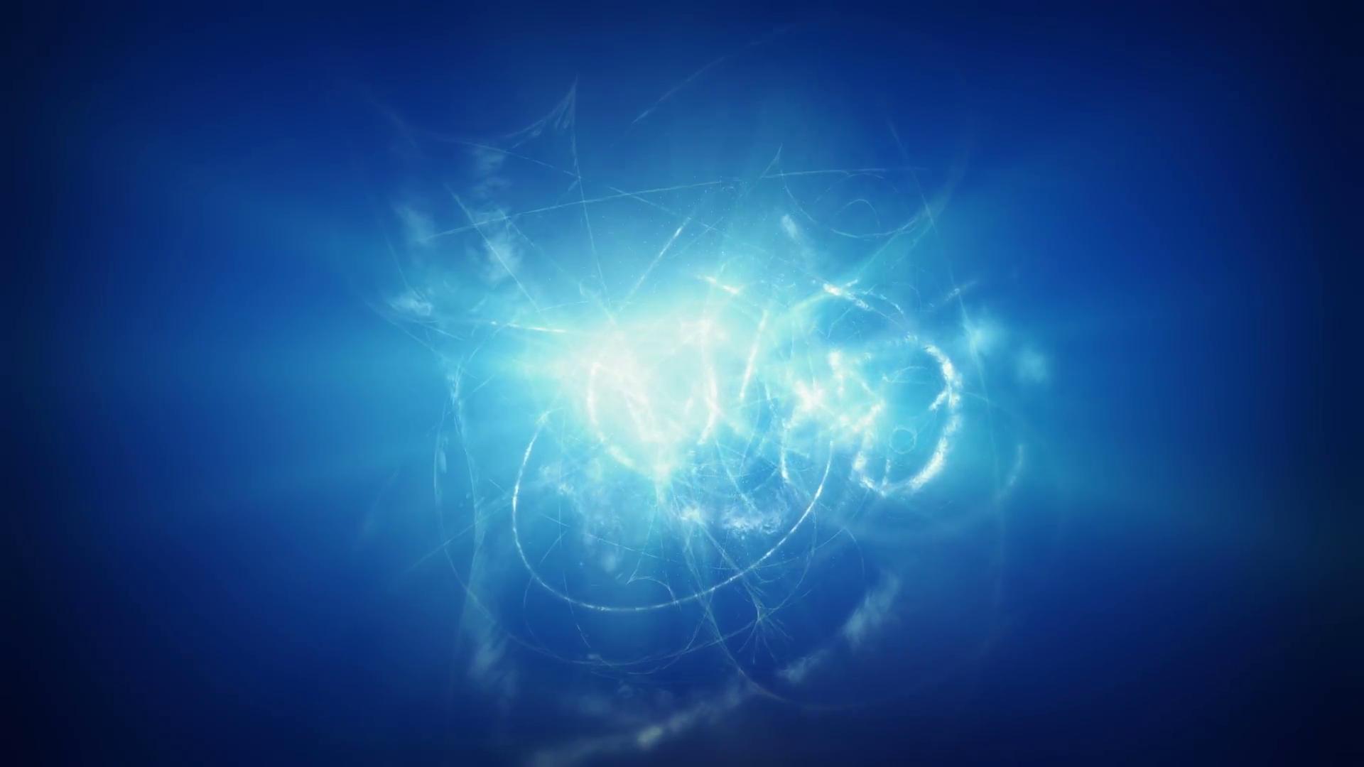 Blue energy background Blue shining plasma background Motion Background.