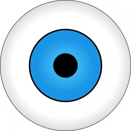 Blue Eyes Clipart.