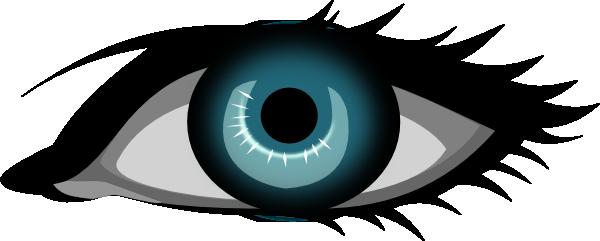Secretlondon Blue Eye clip art Free Vector / 4Vector.