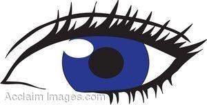 Clipart blue eyes.