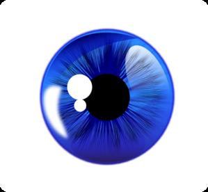 Blue Eyes Clip Art.