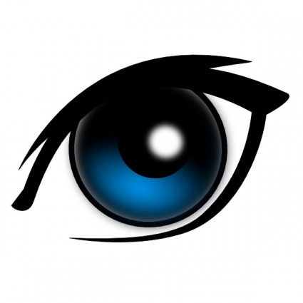 Blue Eye Clip Art Download.
