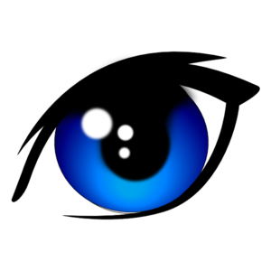 Blue Vector Eye Clip Art at Clker.com.