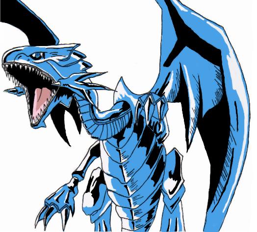 Yugioh Blue Eyes White Dragon Wallpaper.