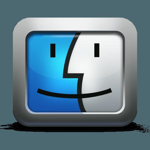 Computer Face Logo.