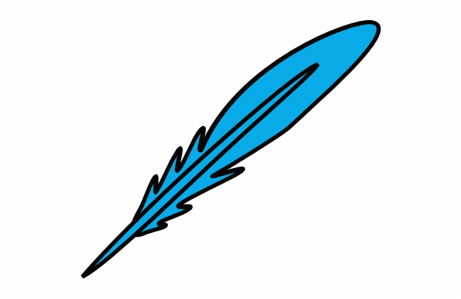 Blue Feather Clipart Free PNG Images & Clipart Download #1201469.