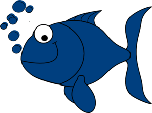 Blue Fish Clip Art at Clker.com.