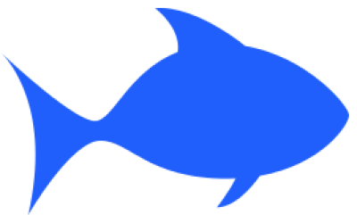Download Free png fish outline blue /animals/aquatic/fish/clipart.