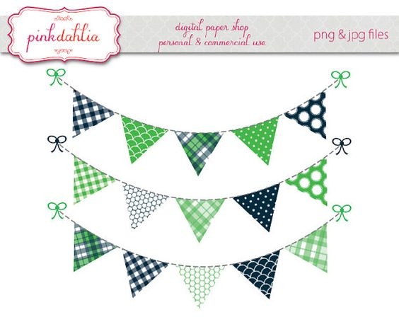 banner clipart green.