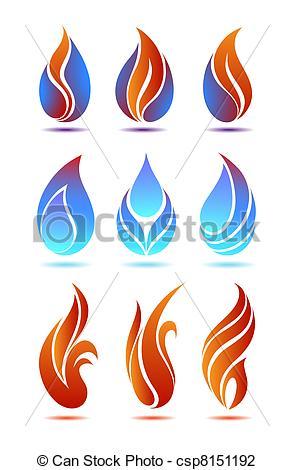 Blue Large Flame Clip Art at Clker.com - vector clip art ...  Blue Flames Clip Art