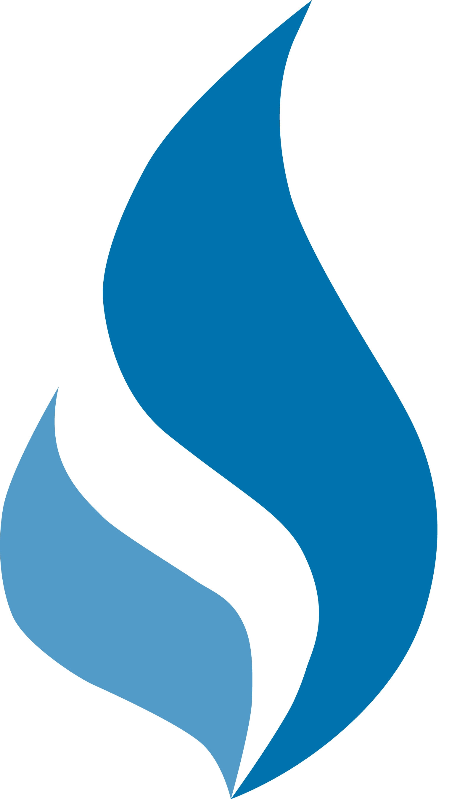 Blue Flame Clipart.
