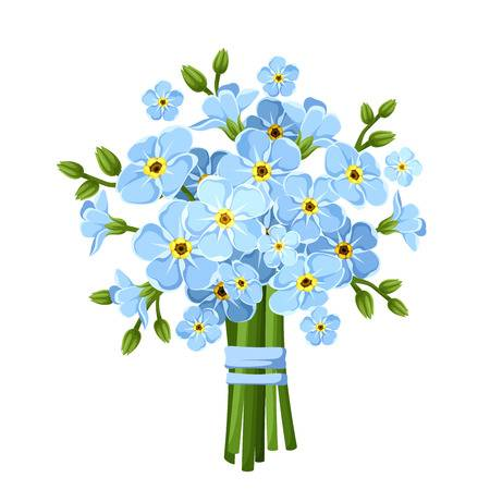 275,907 Blue Flowers Stock Illustrations, Cliparts And Royalty Free.