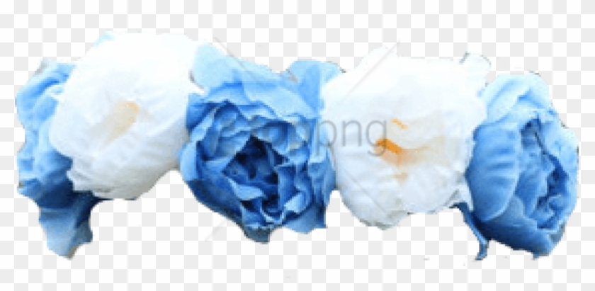 Free Png Download Blue Flower Crown Transparent Png.