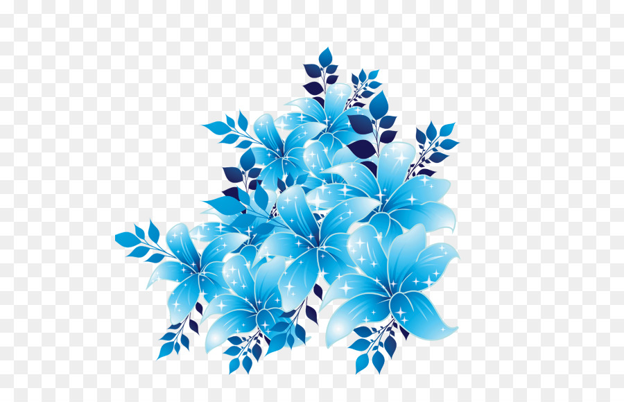 Blue Flowers Png & Free Blue Flowers.png Transparent Images #27378.