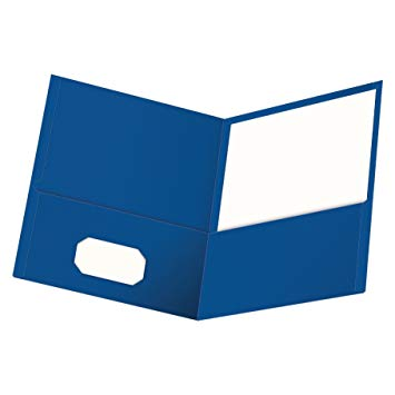 Blue folder clipart 1 » Clipart Station.