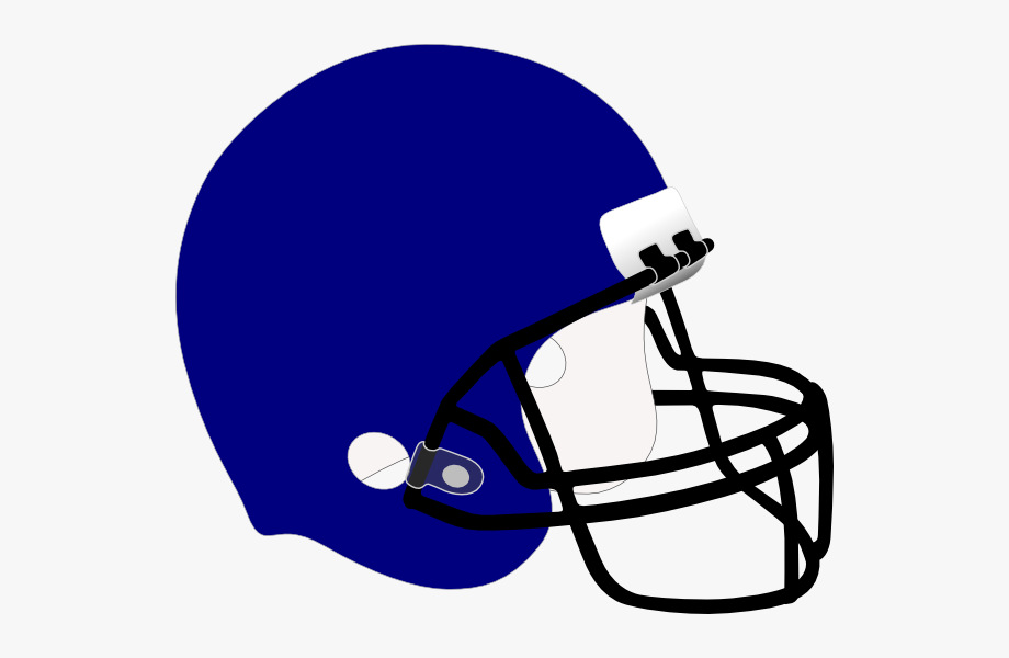 Football Helmet Clipart Blue #75753.