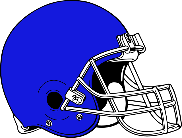 Football Helmets Image.