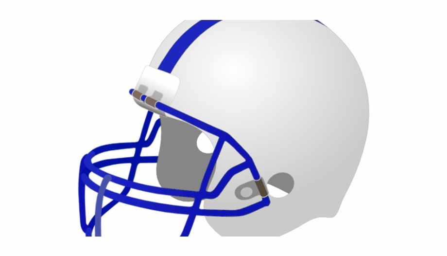 Transparent Football Helmet Clip Art Deep Blue.